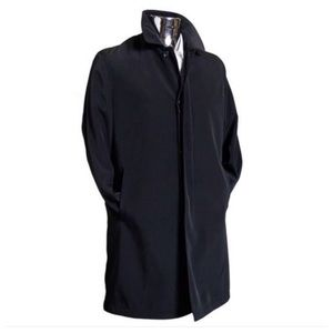 Kenneth Cole Reaction Black Trench Coat